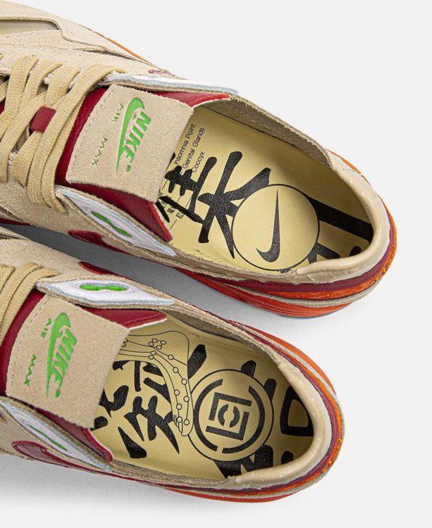 """CLOT x Nike Air Max 1 """"Kiss of Death"""" DD1870-100"""