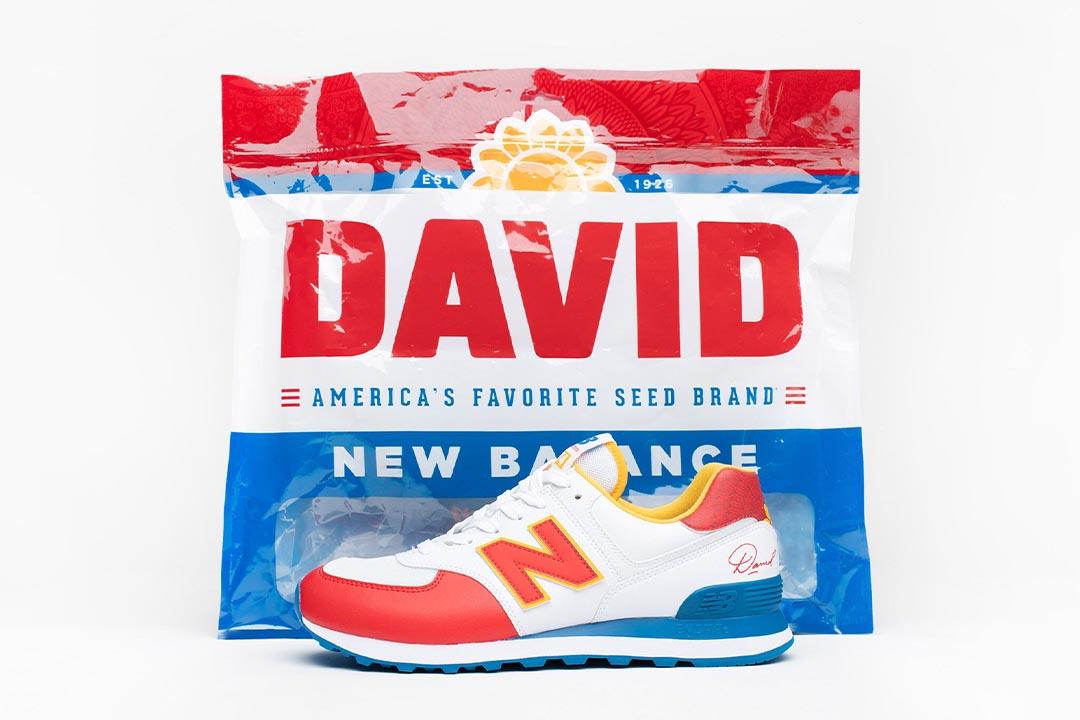 David Sunflower Seeds x New Balance 574 Release Date | Nice Kicks