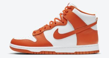 """Nike Dunk High """"Syracuse"""" DD1399-101"""