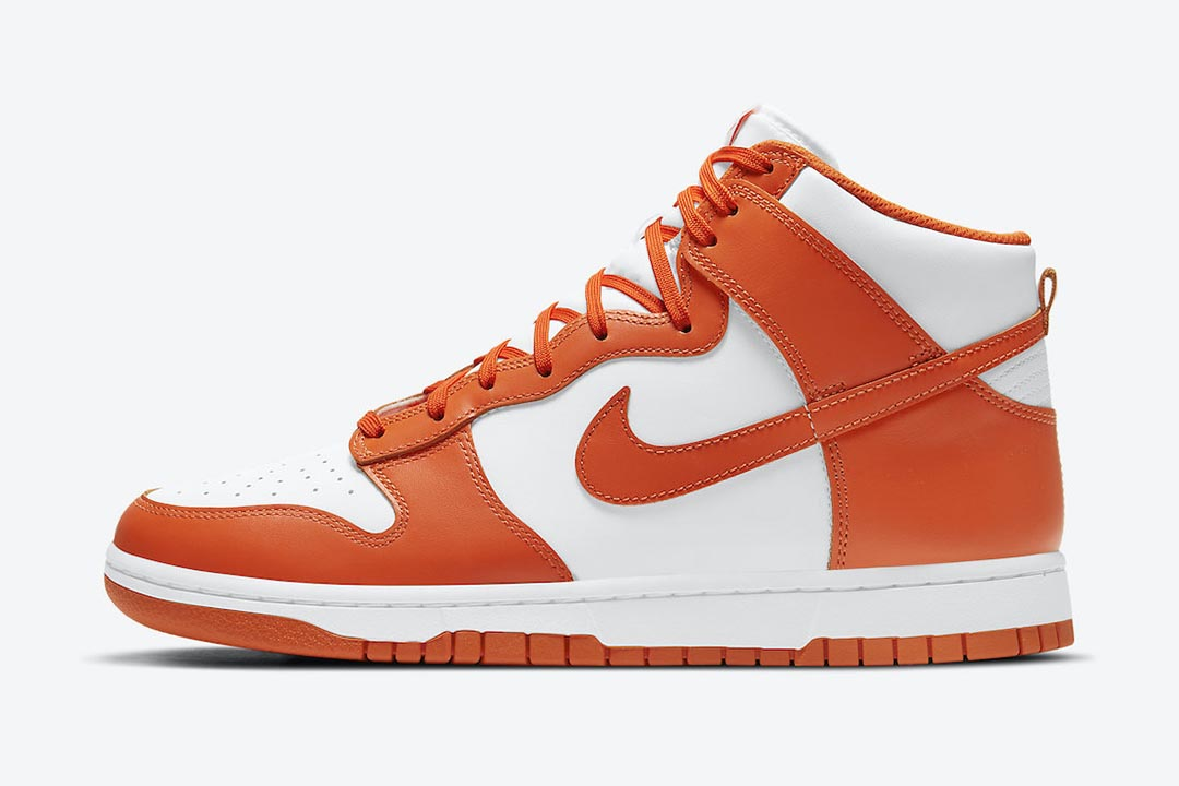 "Nike Dunk High ""Syracuse"" DD1399-101"