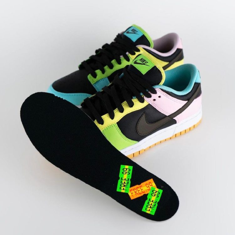 "Nike Dunk Low SE ""Free.99"" DH0952-001"