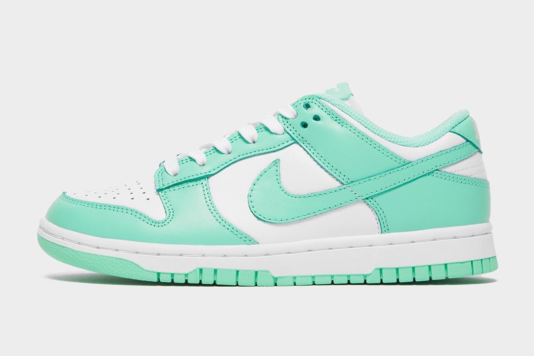 "Nike Dunk Low WMNS ""Green Glow"" DD1503-105"