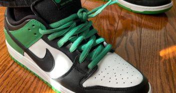 "Nike SB Dunk Low Pro ""Celtics"" J-Pack BQ6817-312"