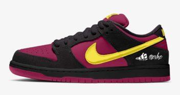 "Nike SB Dunk Low Pro ""Red Plum"" BQ6817-501"