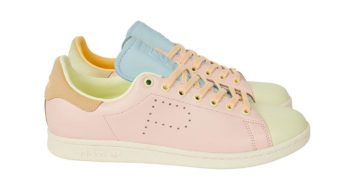 Palace x adidas Stan Smith Hase Yellow / Icey Pink / Ice Blue