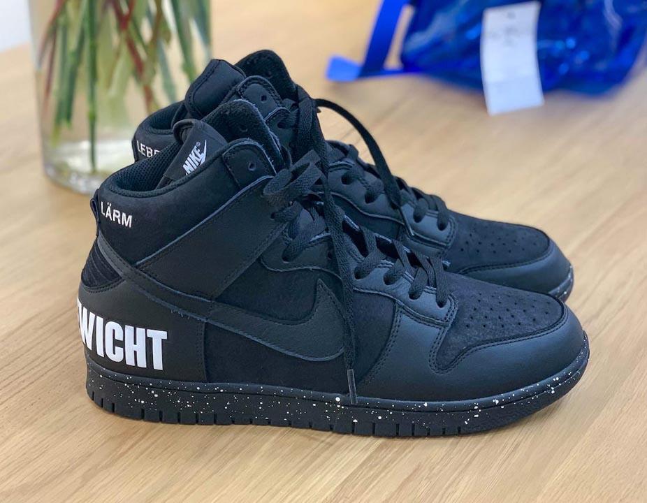UNDERCOVER x Nike Dunk High Black