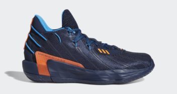 """adidas Dame 7 """"Lights Out"""" FZ1103"""