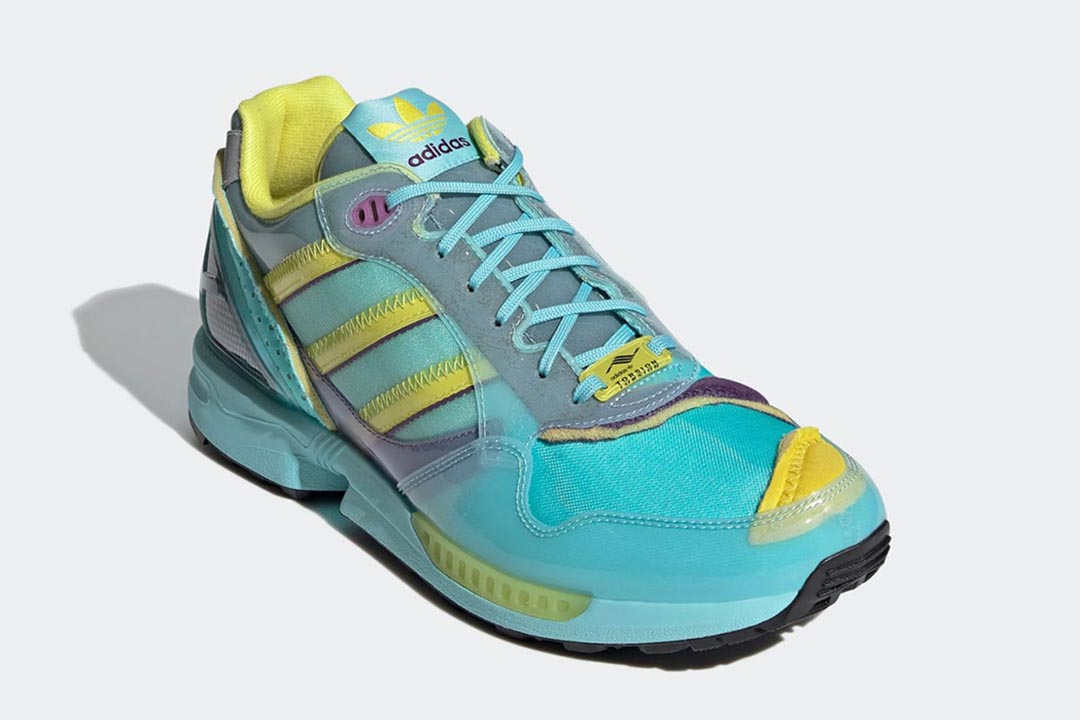 """""""Inside Out"""" ZX 6000 Sneakers"""