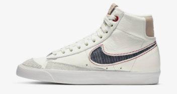 Denham x Nike Blazer Mid 77 CU8054-100