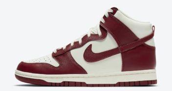 "Nike Dunk High ""Team Red"" DD1869-101"