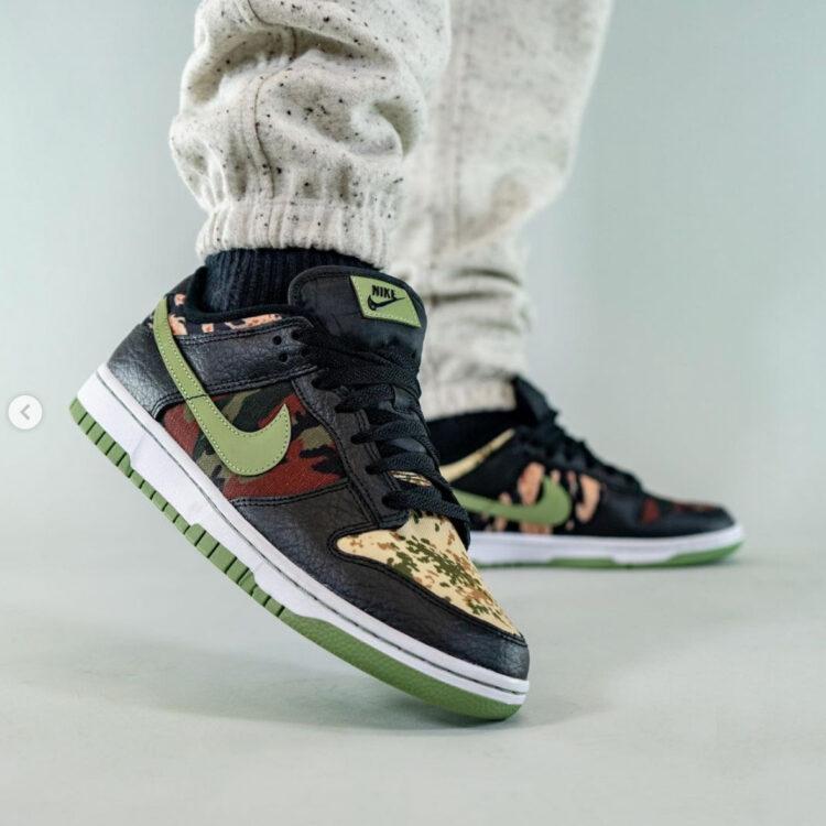 "Nike Dunk Low SE ""Oil Green"" DH0957-001"