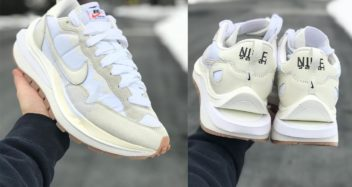 "sacai x Nike VaporWaffle ""Cream"""