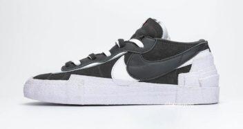 sacai x Nike Blazer Low Dark Grey DD1877-002