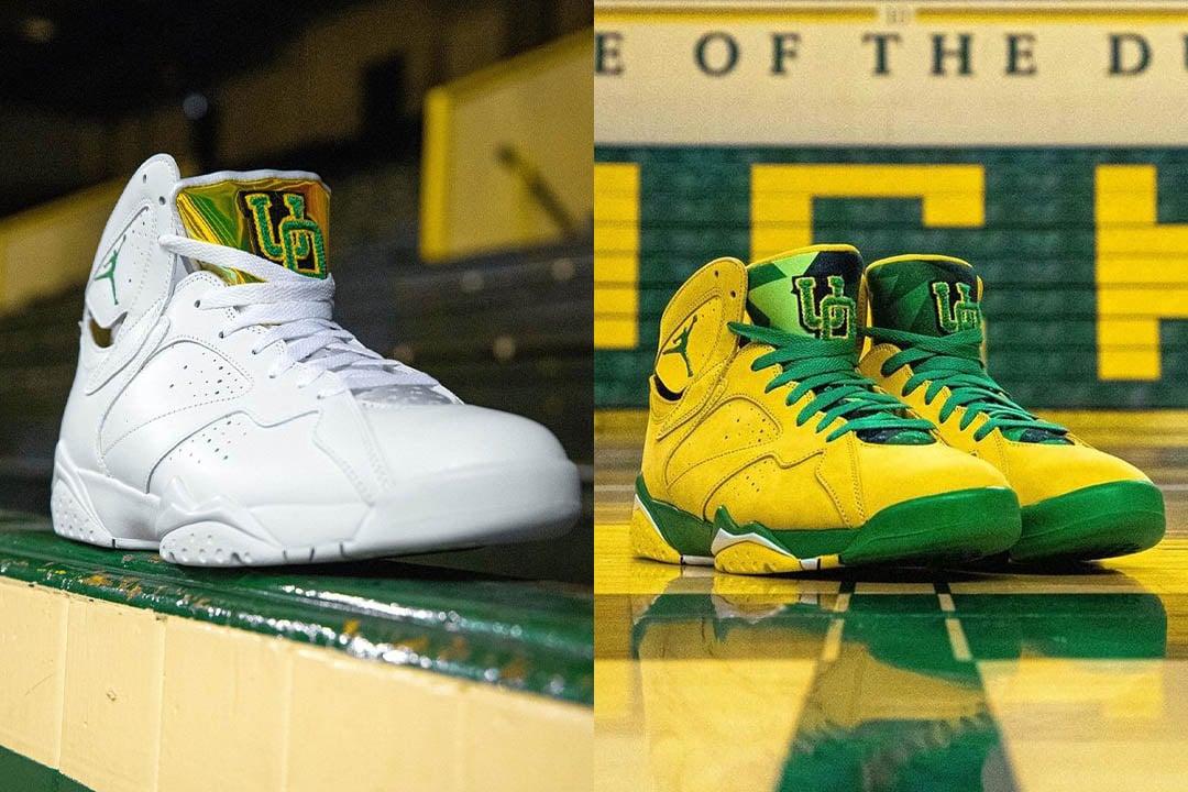 """Air Jordan 7 """"Oregon Ducks"""" PE"""