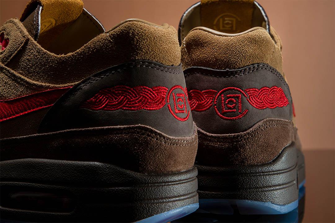 """CLOT x Nike Air Max 1 """"Kiss Of Death Cha"""""""
