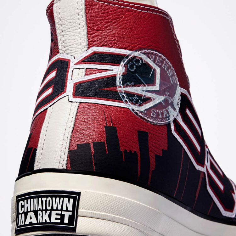 "Chinatown Market x Converse Chuck 70 ""Bulls Championship Jacket"" 171243C"