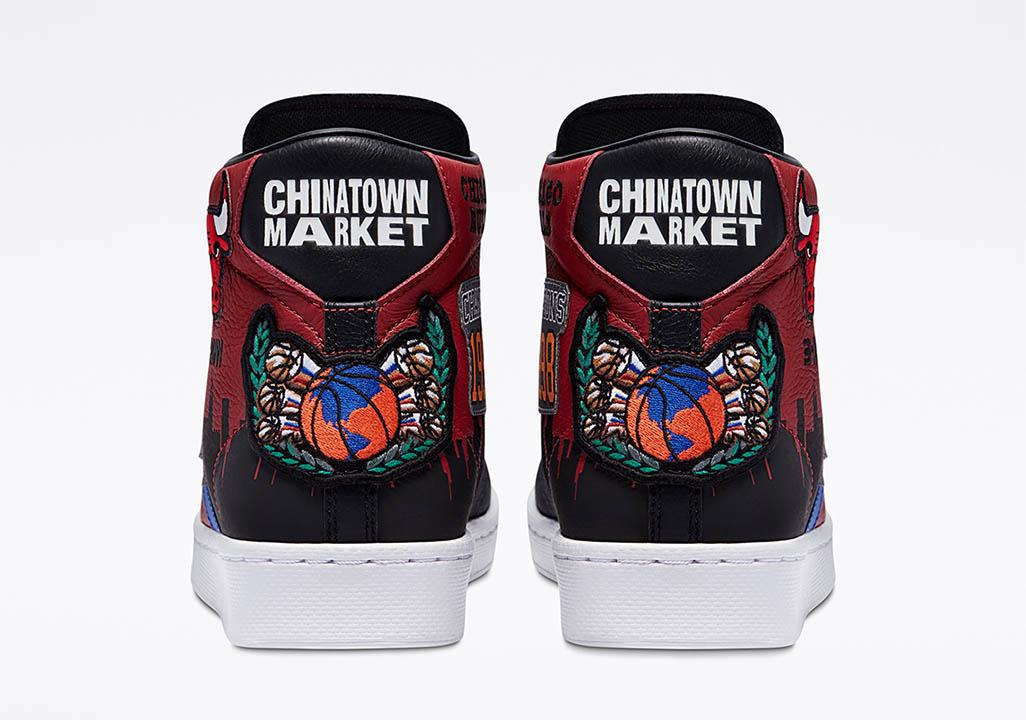 "Chinatown Market x Converse Pro Leather ""Bulls Championship Jacket"" 171241C"