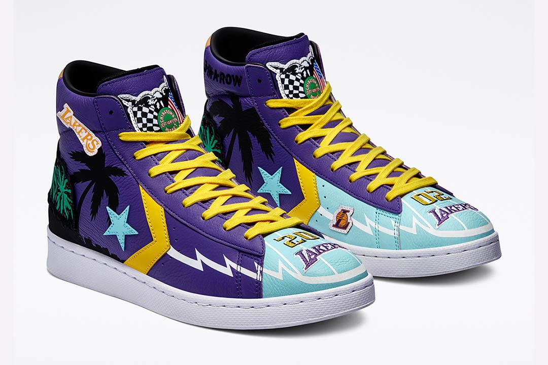 "Chinatown Market x Converse Pro Leather ""Lakers Championship Jacket"" 171240C"