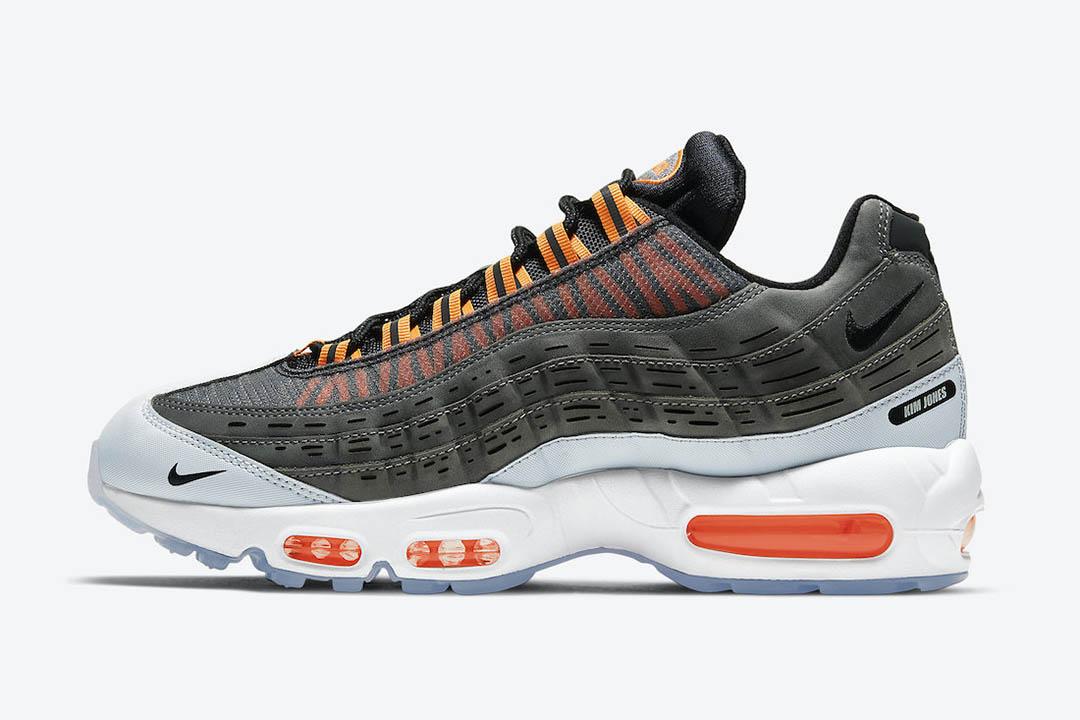 "Kim Jones x Nike Air Max 95 ""Total Orange"" DD1871-001"