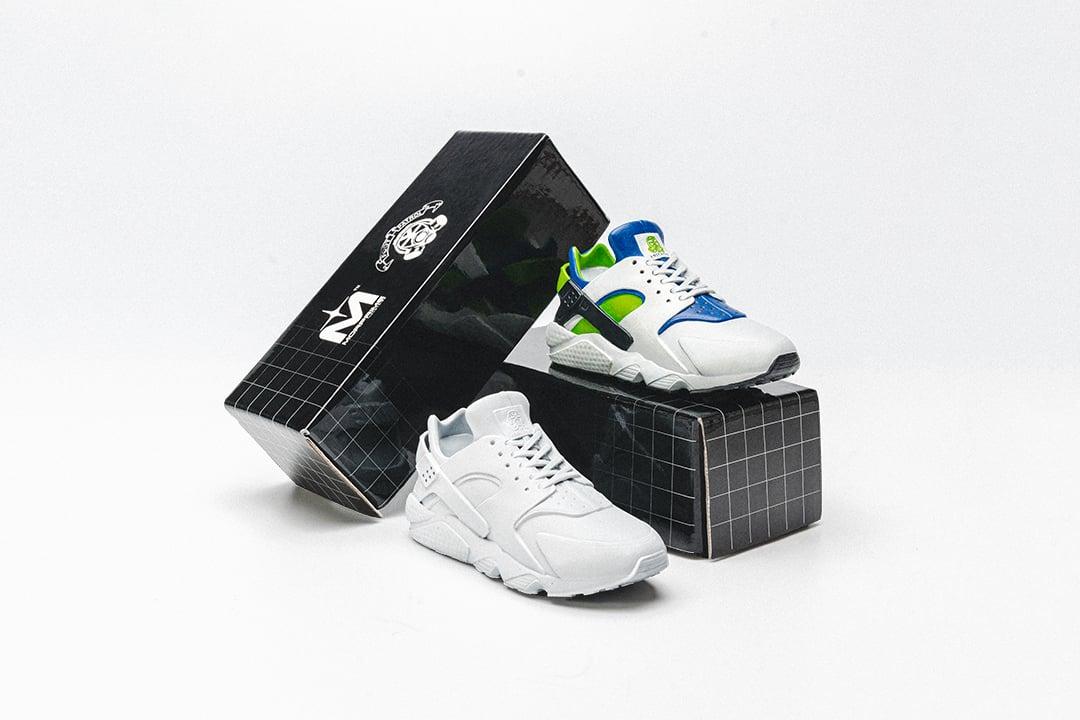 Morprime Industries x Footpatrol Nike Air Huarache Figurine