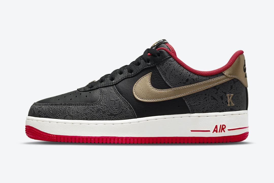 "Nike Air Force 1 Low ""Spades King Queen"" DJ5184-001"