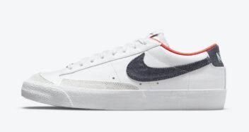 """Nike Blazer Low """"USA Denim"""" DJ6201-100"""