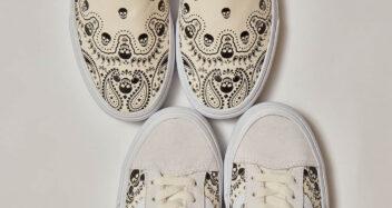 "Vans ""Bandana"" Classic Slip-On & Style 36"