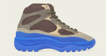 """adidas Yeezy DSRT Boot """"Taupe Blue"""""""