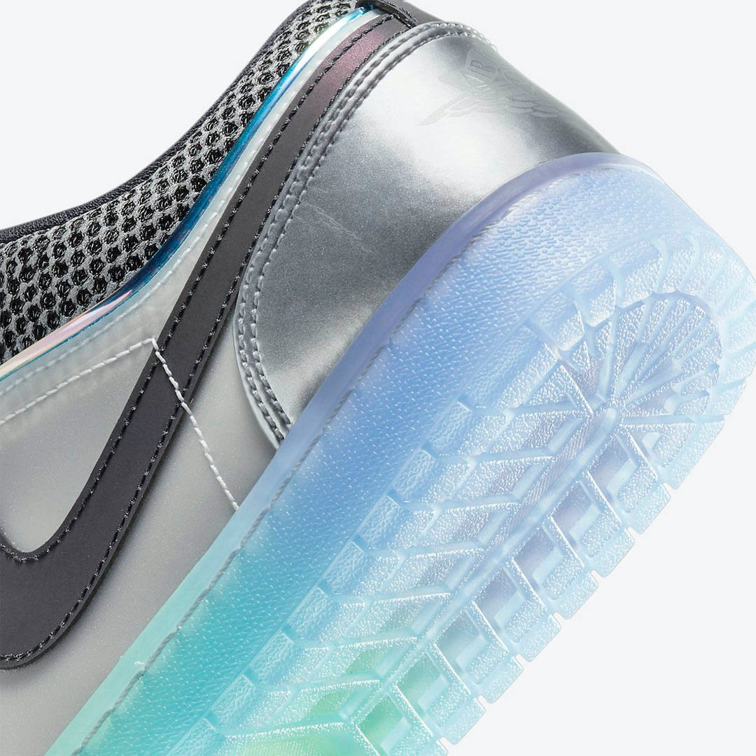 A Futuristic Air Jordan 1 Low SE Has Surfaced With A Holographic Feel