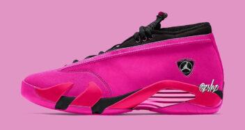 """Air Jordan 14 Low WMNS """"Shocking Pink"""""""