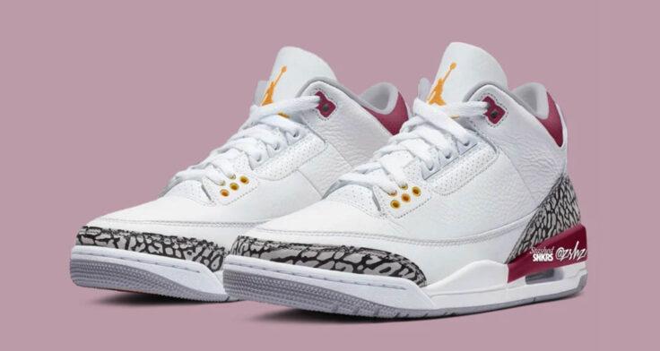 "Air Jordan 3 ""Cardinal"""
