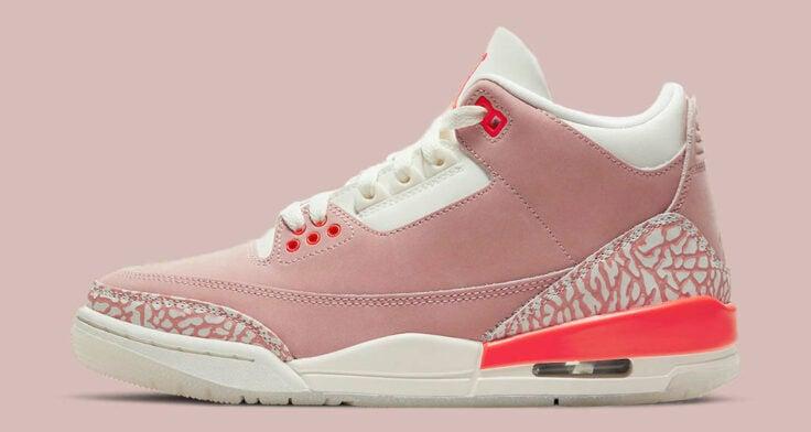 "Air Jordan 3 WMNS ""Rust Pink"" CK9246-600"