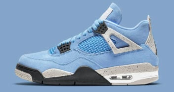 "Air Jordan 4 ""University Blue"" CT8527-400"