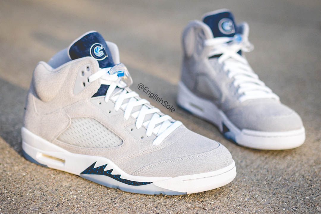 "Air Jordan 5 ""Georgetown Hoyas PE"""
