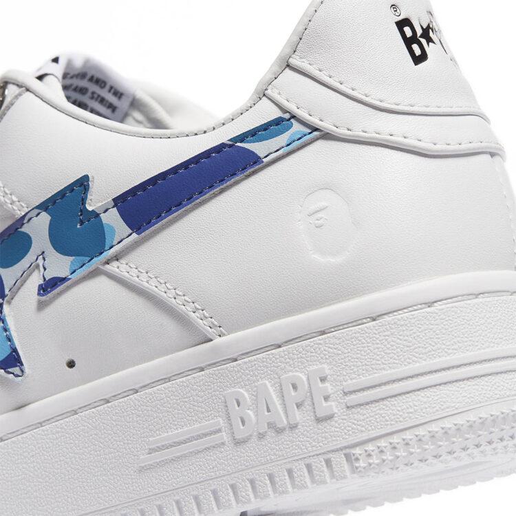 BAPE BAPE STA WHITE ABC CAMO GREEN 001FWH201045_BLU
