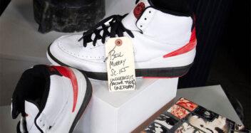 "Bill Murray ""Space Jam"" Air Jordan 2 Up For Auction"