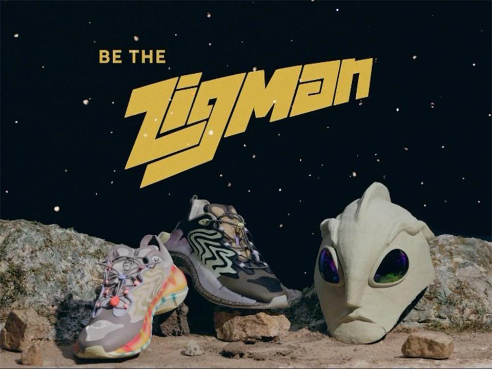 "Brain Dead x Reebok Zig Kinetica II ""Zigman vs. The Spacecraft"""