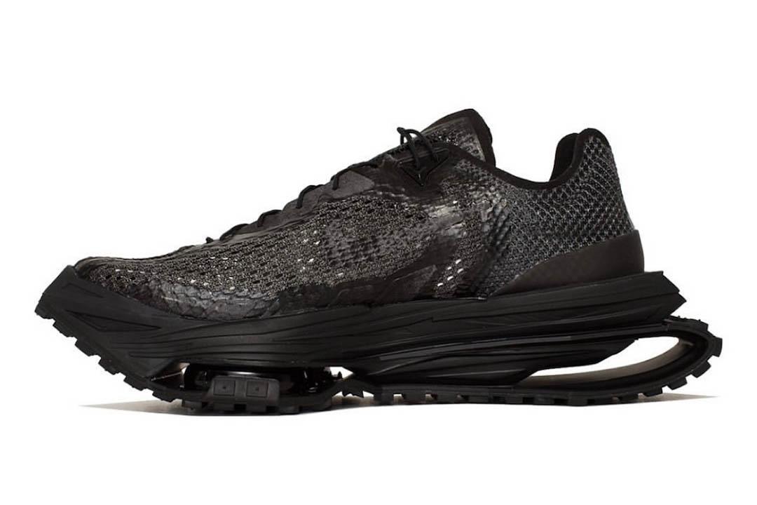 Matthew M Williams Nike Zoom MMW 4 Black DC7442 001 01