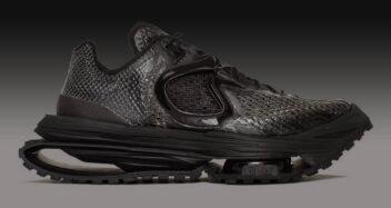 "Matthew M Williams x Nike Zoom MMW 4 ""Triple Black"" DC7442-001"