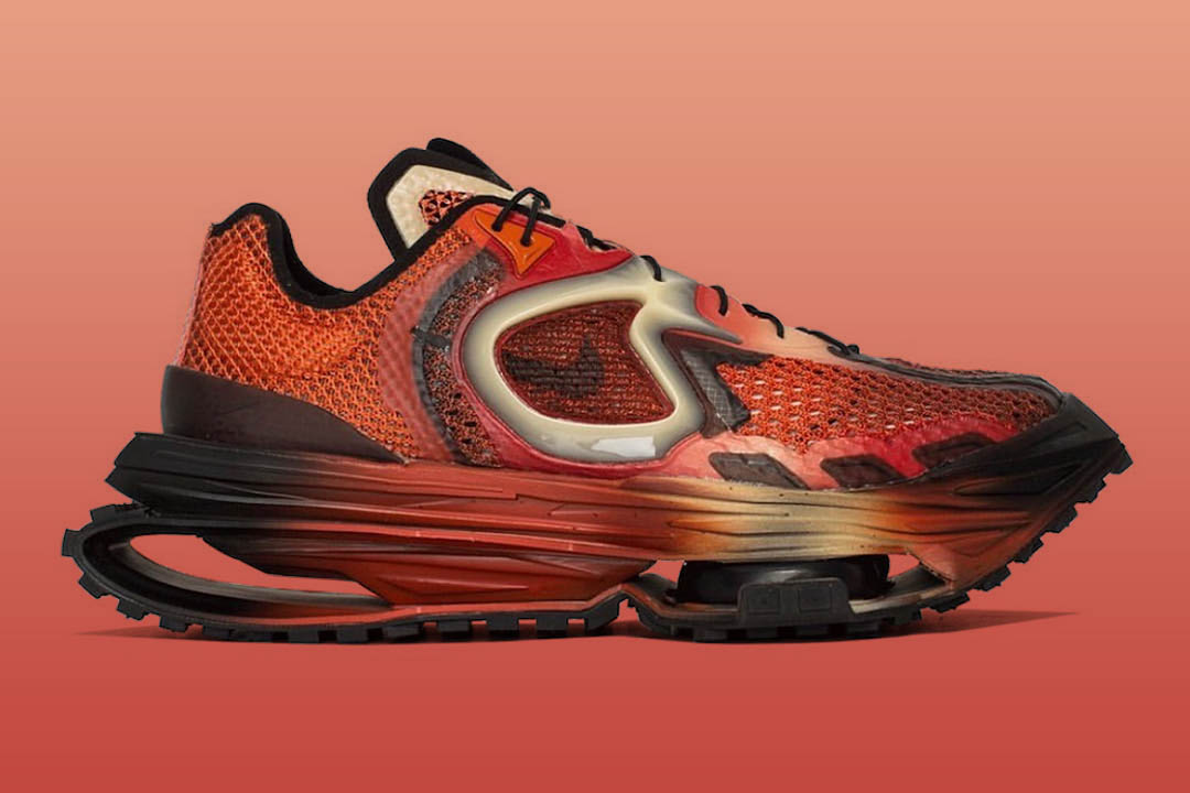 "Matthew M Williams x Nike Zoom MMW 4 ""Rust Factor"" DC7442-800"