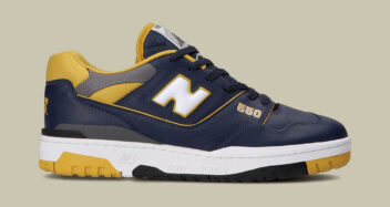 New Balance 550 Navy/Yellow BB550MA1