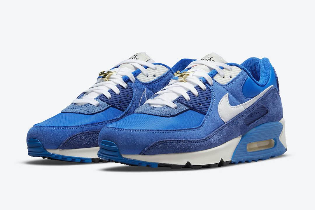Nike Air Max 90 Signal Blue DB0636 400 01