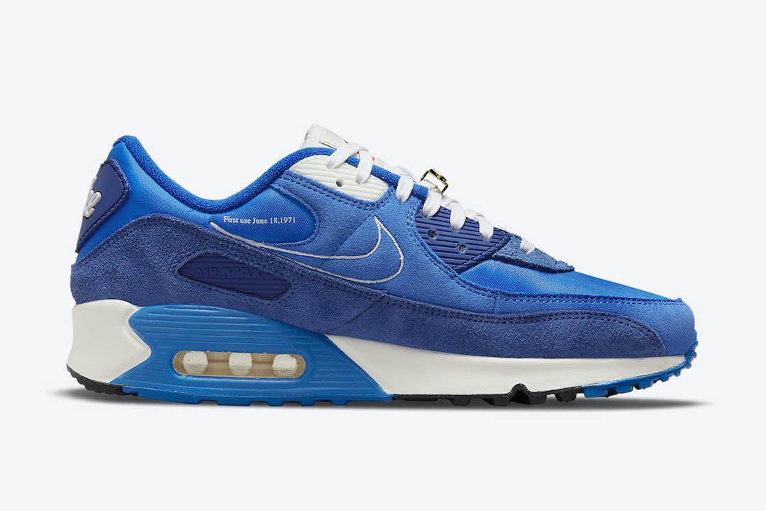 Nike Air Max 90 Signal Blue DB0636 400 02