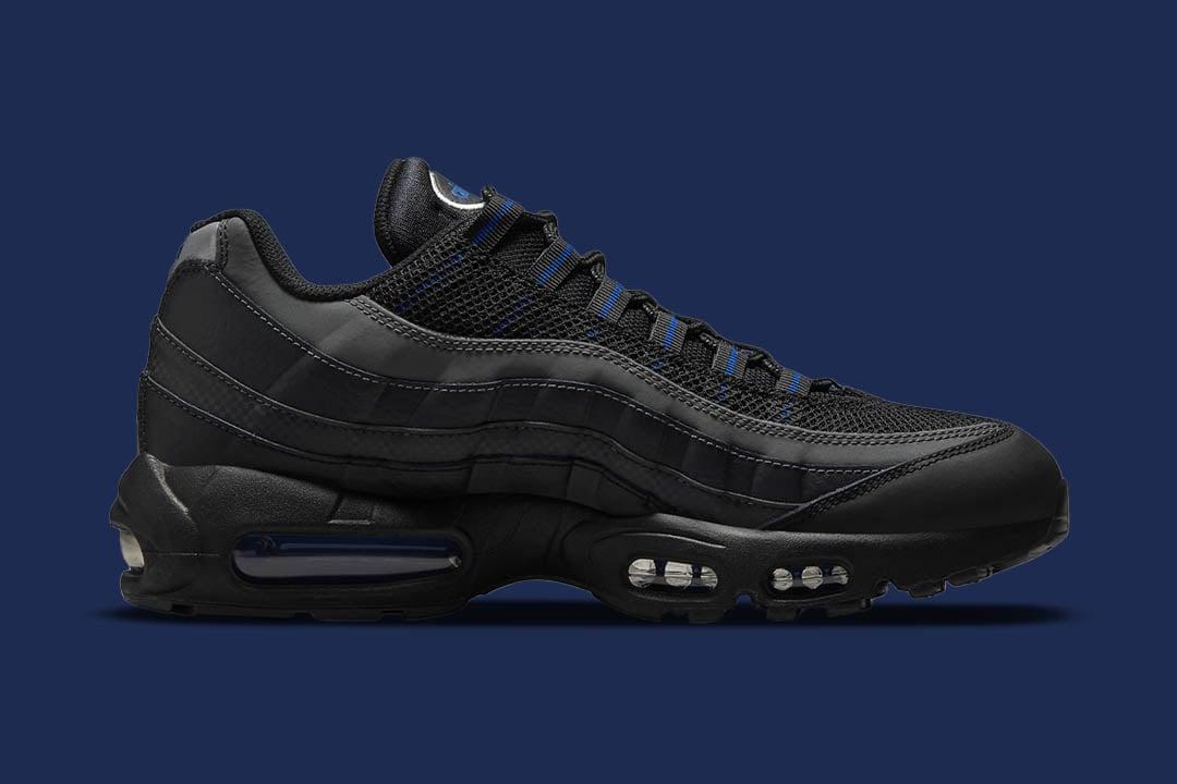 "Nike Air Max 95 ""Black Royal"" DM9104-001"