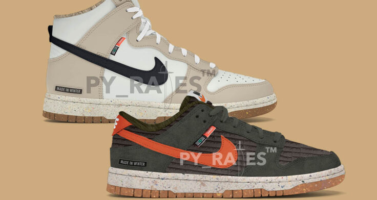 "Nike Dunk Low & High ""Next Nature"""