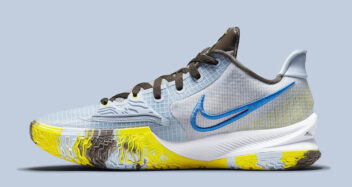"Nike Kyrie Low 4 ""Light Armory Blue"" CW3985-400"