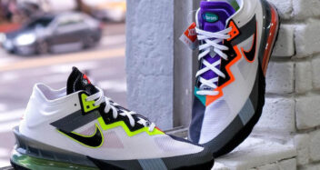 "Nike LeBron 18 Low ""Greedy"" CV7564-100"