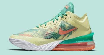 "Nike LeBron 18 Low ""LeBronald Palmer"" CV7562-300"