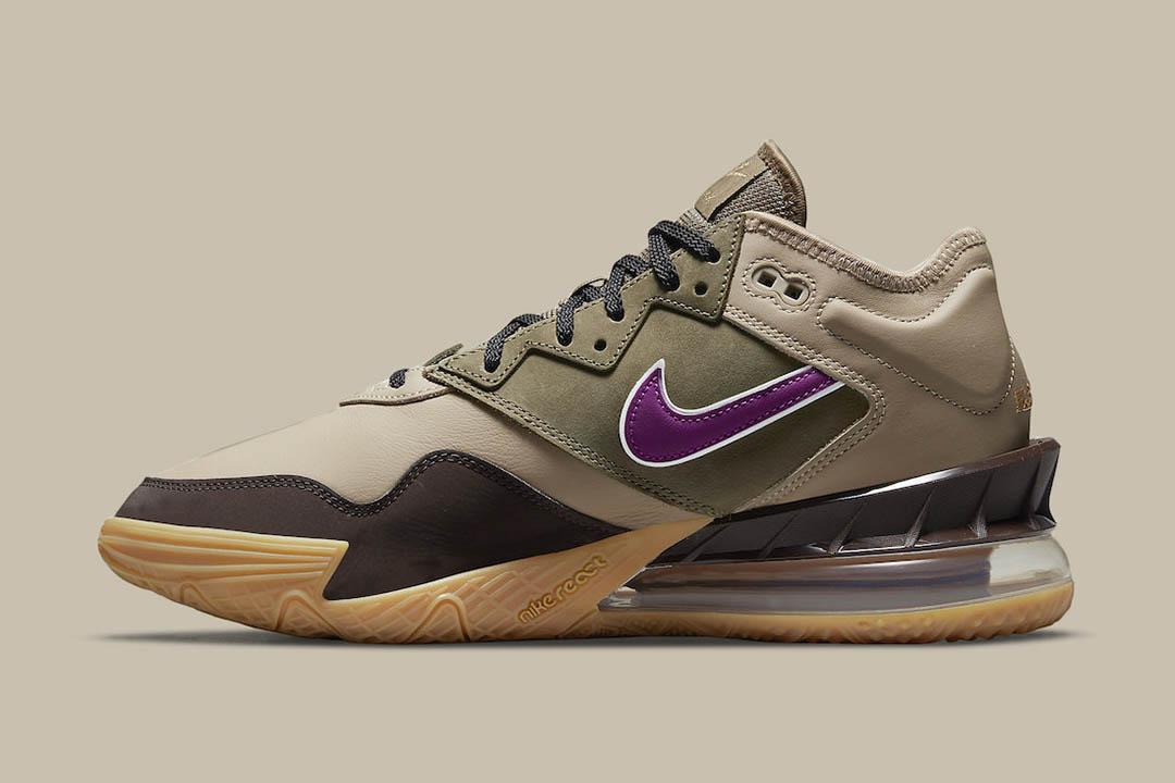"""Nike LeBron 18 Low """"Viotech"""" CW5635-200"""