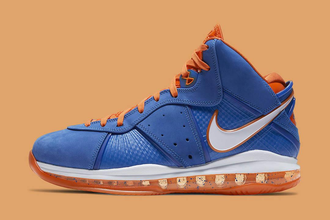 "Nike LeBron 8 ""HWC"" Hardwood Classic 2021 CV1750-400"